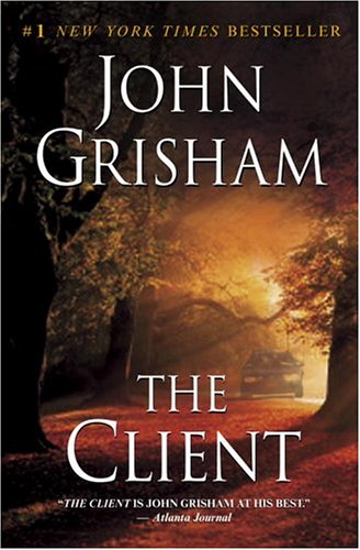"Old Law Book Cover ~ Book it up john grisham s ""the client seems life is"