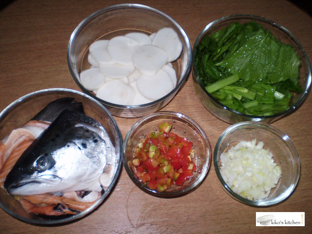 Sinigang Na Ulo Ng Salmon Sa Miso Kiko S Kitchen